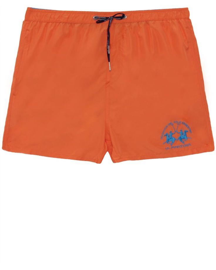 La Martina | Orange Clint Swim Shorts for Men | Lyst