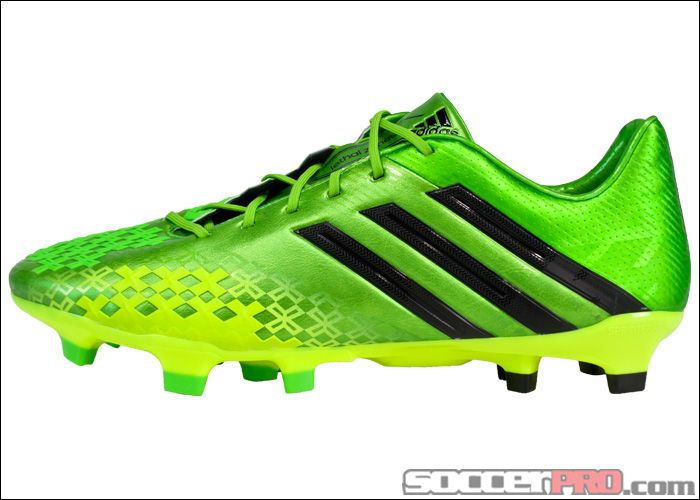 adidas Predator LZ TRX FG Soccer Cleats - Ray Green with Black...$197.99