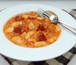 Simple Sausage Cassoulet