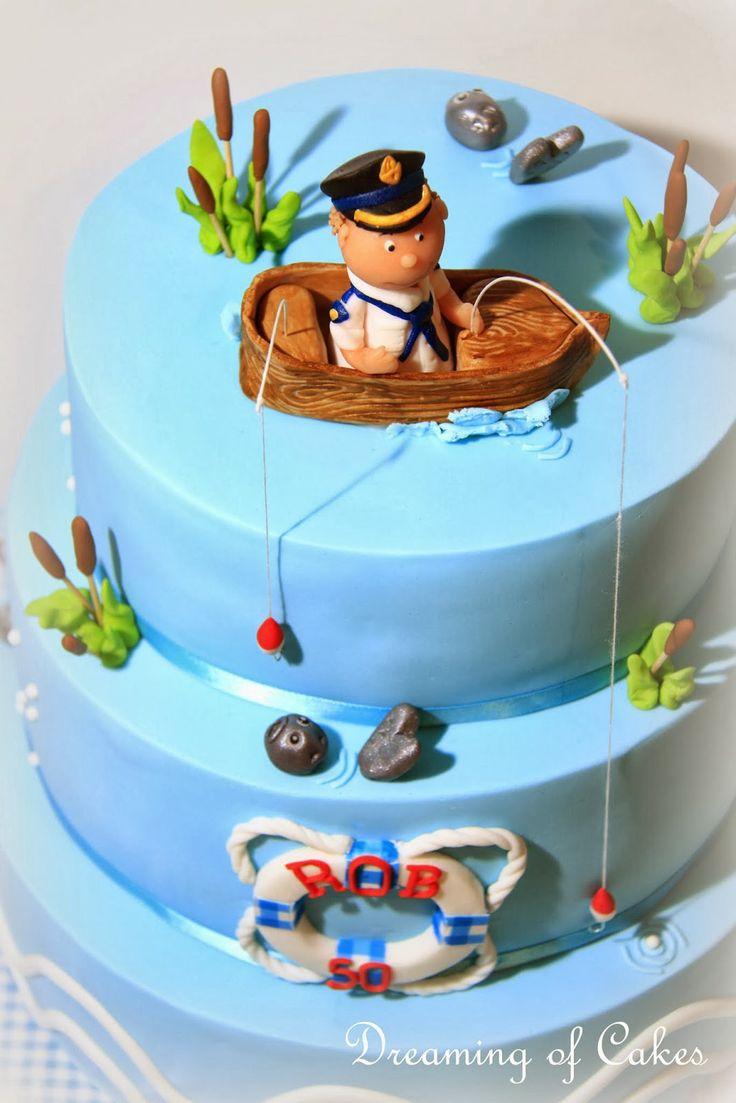 Dreaming of Cakes vissers taart