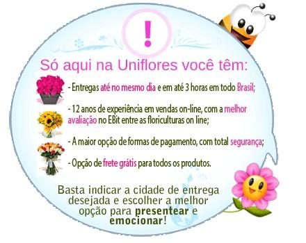 Flores e Cestas de Café na melhor floricultura online - Uniflores