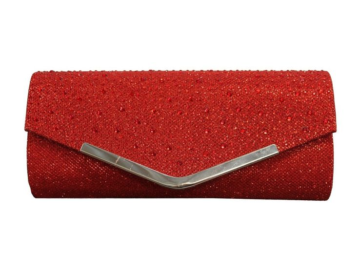 """Looking for a perfect, simplistic, shimmery, sleek clutch/evening bag? """"Heather"""" is the one for you! Available now at www.borsetta.london  Also available in Black and Monaco Blue!"""