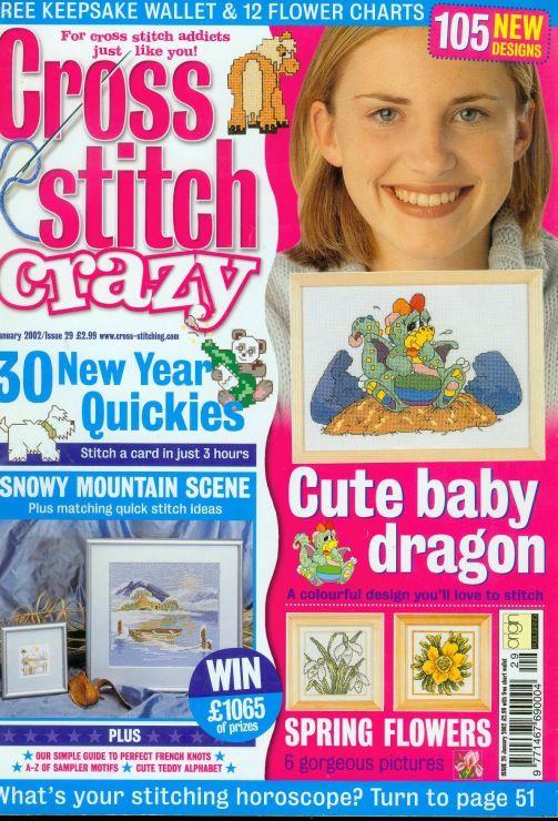 (1) Gallery.ru / Photo # 1 - Cross Stitch Crazy 029 January 2002 - tymannost