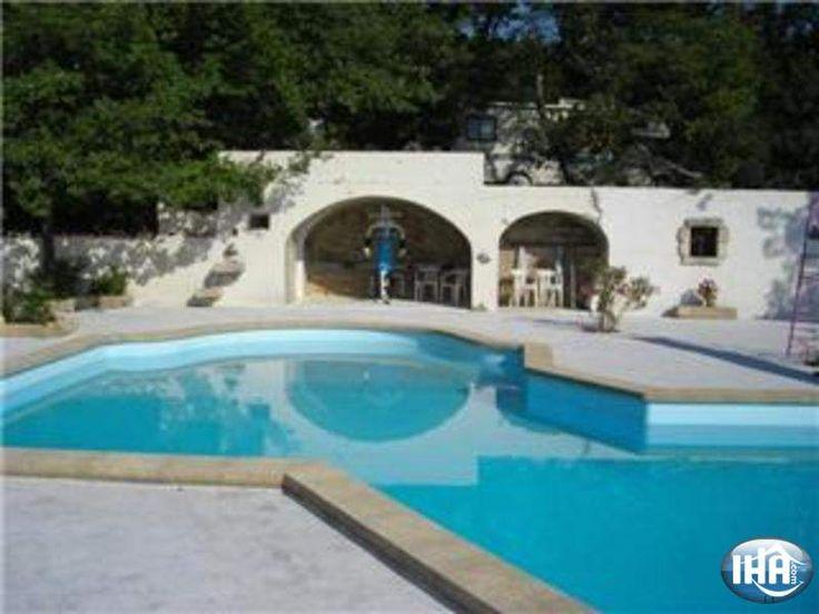 Provencaals Huis  Saint Nazaire Vakantiewoningen  Gard Languedoc Roussillon Frankrijk