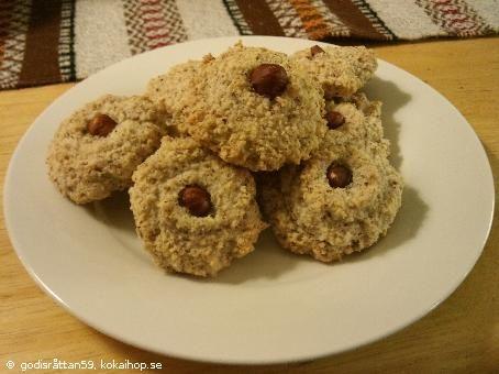Recept - Nötkakor naturligt fria från laktos och gluten