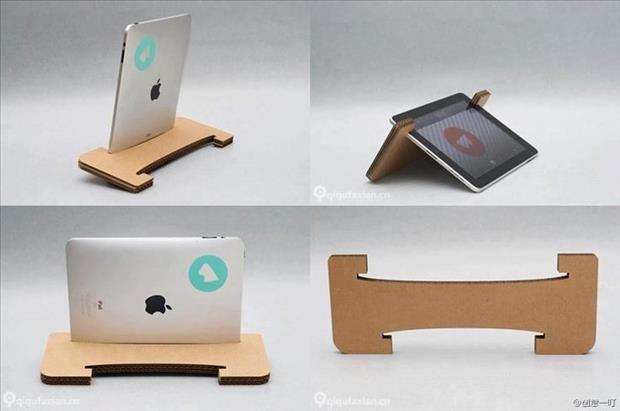 Base de cartón para Tablets
