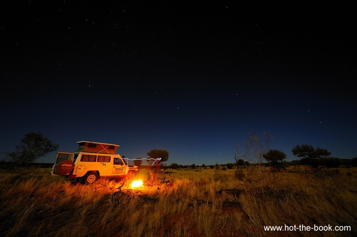 travel bucket list: go camping in the australian outback