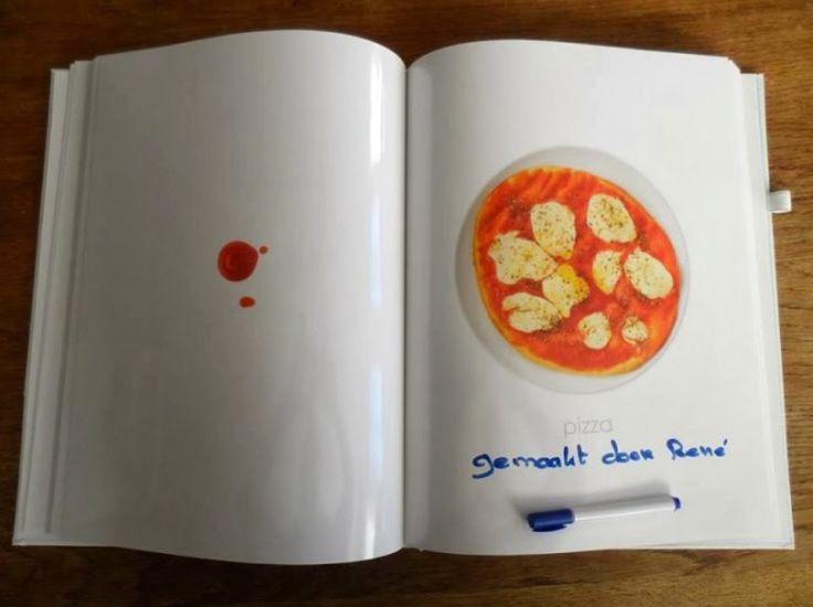 Winnend Kookboek 'Kijk ik kook'. Rene ervaart dat het werkt!