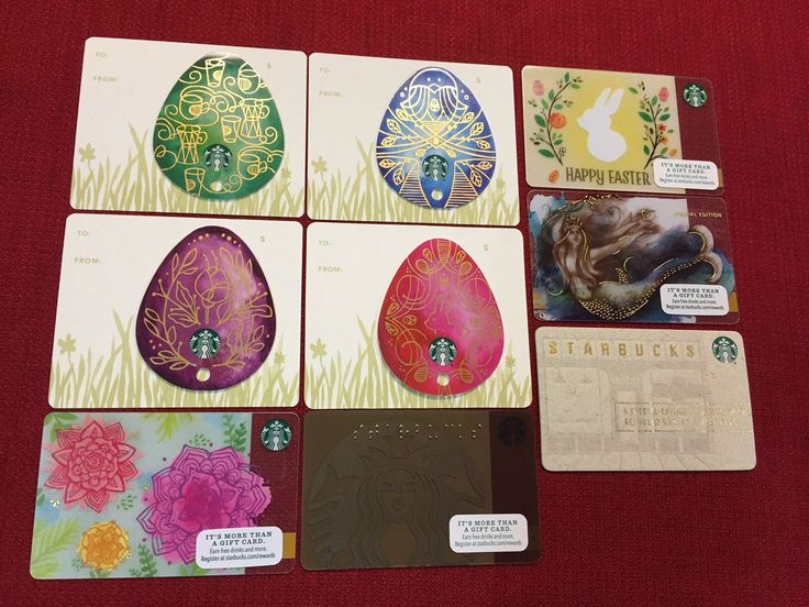 5 new starbucks 2016 happy easter gift cards lot plus 4 bonus 5 new starbucks 2016 happy easter gift cards lot plus 4 bonus cards limited ebay dreamy dreamy 52 pinterest happy easter starbucks and easter negle Choice Image