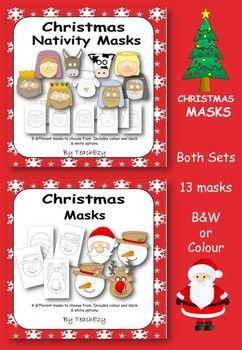 Christmas and Nativity Masks