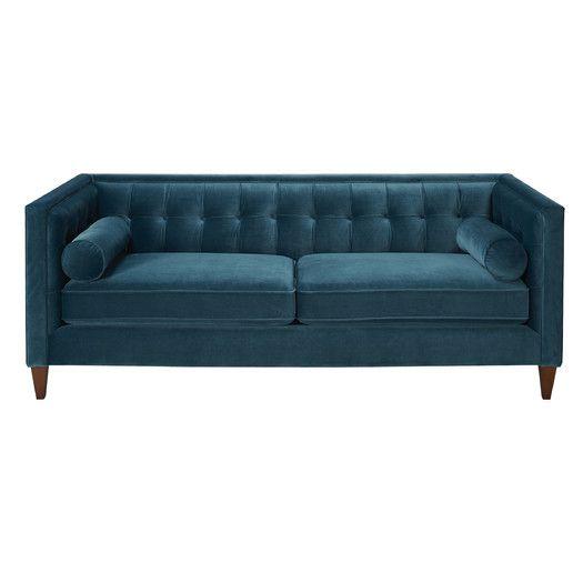 $1,660.99 Jennifer Taylor Milano Tufted Sofa in Teal