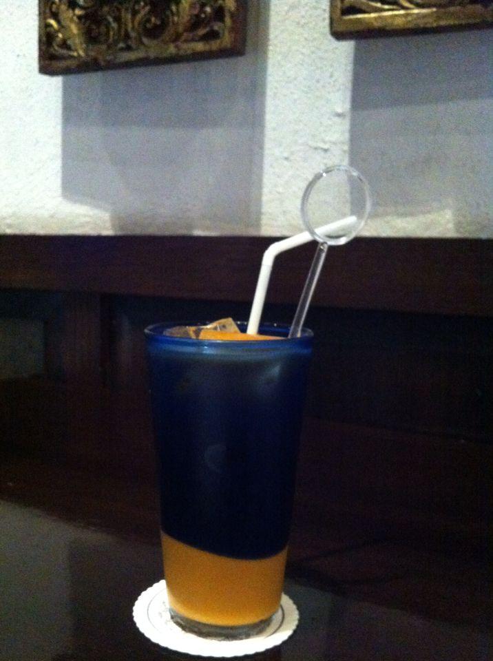 Thai iced Tea - My drink