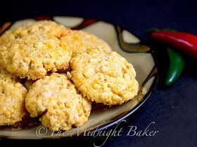Crispy Cheddar Bacon Cookies