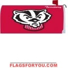 University of Wisconsin Mailbox Cover