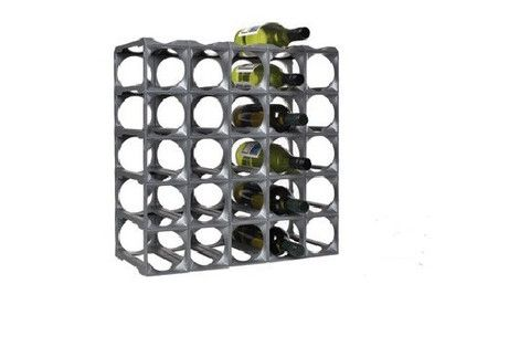 Stakrax 30 Bottle Kit - Silver – Wine Stuff - Online collection of wine racks for sale
