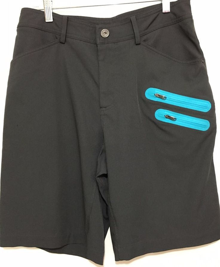 Lululemon Mens 32 Gray Blue Commute Bermuda Golf Walking Shorts Stretch  #Lululemon #CasualShorts