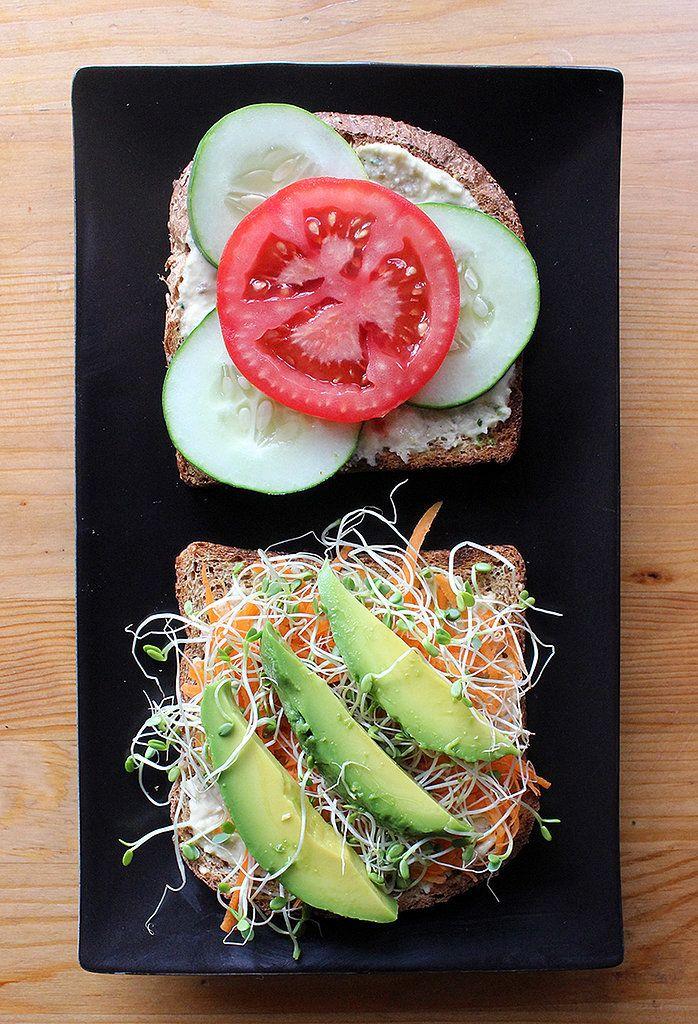 Veggie Sandwich Recipe | POPSUGAR Fitness