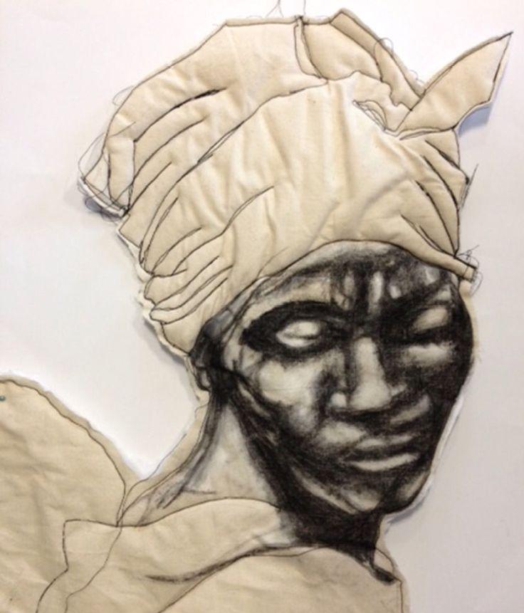 Textiles work by Rachel TaylorEvans Gcse art, Art
