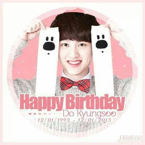 exo DO KYUNGSOO birthday