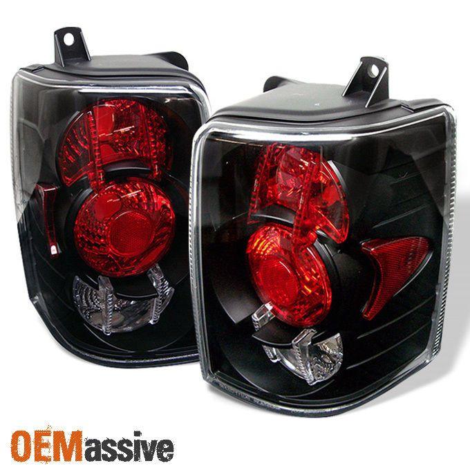 Fits 93-98 Grand Cherokee Sport SUV Black Tail Brake Lights Lamp Pair Left+Right #OEMASSIVE