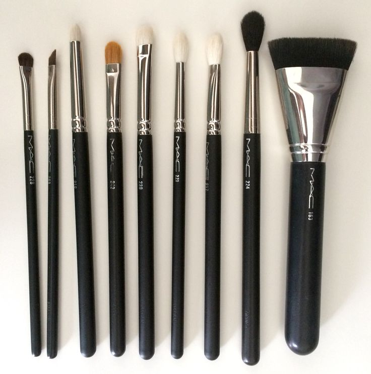 Best MAC Brushes 228, 263, 219, 242, 239, 221, 217, 224, 163