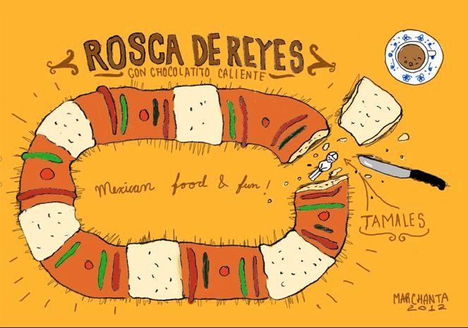 En Almuerzos del Moral tenemos la más exquisita Rosca de Reyes para que nunca dejemos de lado ésta bonita tradición
