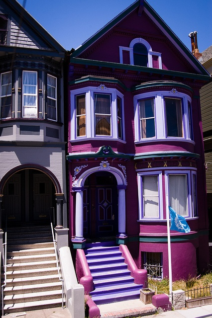 17 best ideas about painted ladies on pinterest san for Beautiful architecture houses