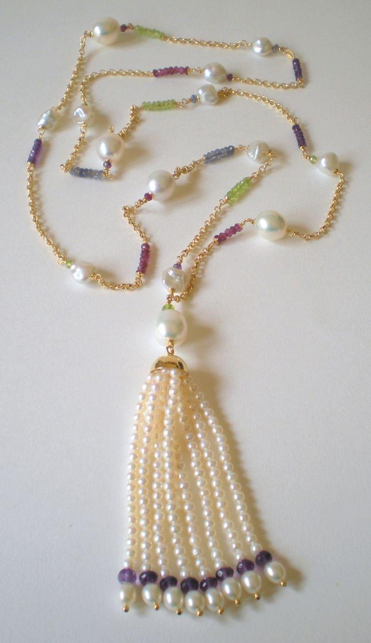 18K gold - gems - pearls www.cinziarusso.it