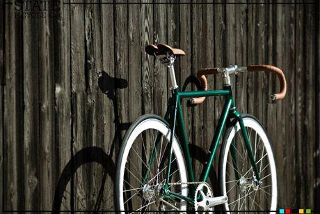 Santa Fixie. State Bicycle The Ranger. State The Ranger Fixie