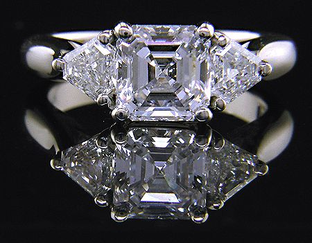 One day I'd like to buy a ring with an asscher cut diamond.