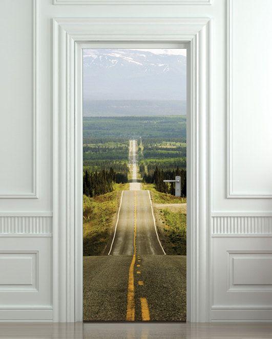 1000 ideas about door stickers on pinterest interior for Idea door journey to bethlehem