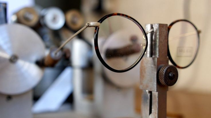 There is just one remaining spectacle frame factory in the UK and it still uses the same machines installed in 1932