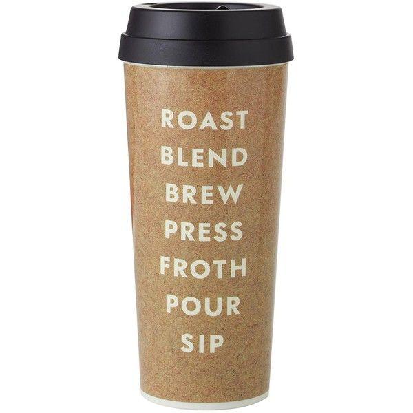 Inspirational kate spade new york Thermal Mug Roast and Blend liked on