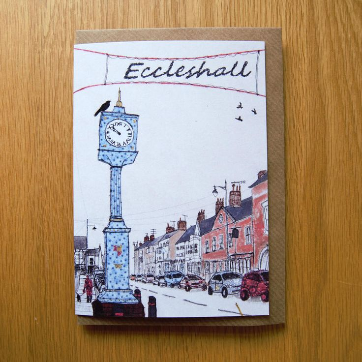 Eccleshall, Staffordshire. Choose from a range of greetings cards for any occasion. Each card is a high-quality print of one of my original textile pieces, printed onto eco-friendly carbon captured papers.All cards are A6 size and come supplied with a brown envelope. They are blank inside for your own personal message.Did you know that I can also write a personalised message inside the card to send directly to the recipient?