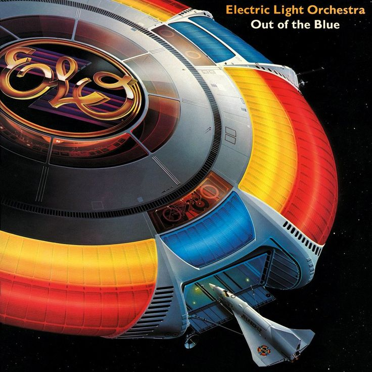 Out of the Blue is the seventh studio album by ELO, released in October 1977.  Written and produced by ELO frontman Jeff Lynne, the double album is among the most commercially