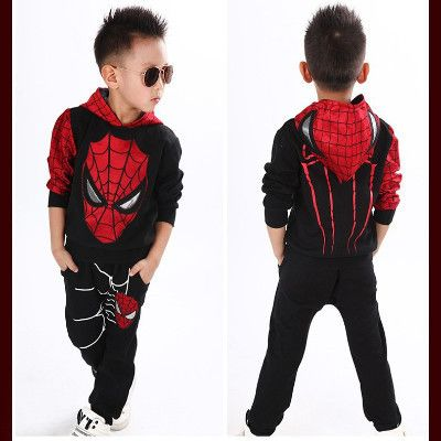 Trendy Spiderman Suit For Kids