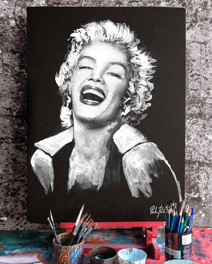 """""""Portre Portrait  #marilynmonroe""""  #artwork #fineart #draw #drawing #portrait #portraitart #portre #artdrawing #artofdrawing"""