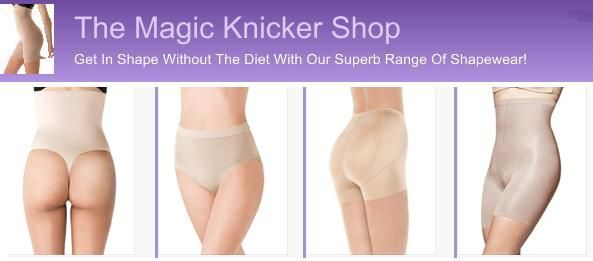 The Magic Knicker Shop has sent us a discount code for 10% off all of their shapewear. This is valid for the entire year!
