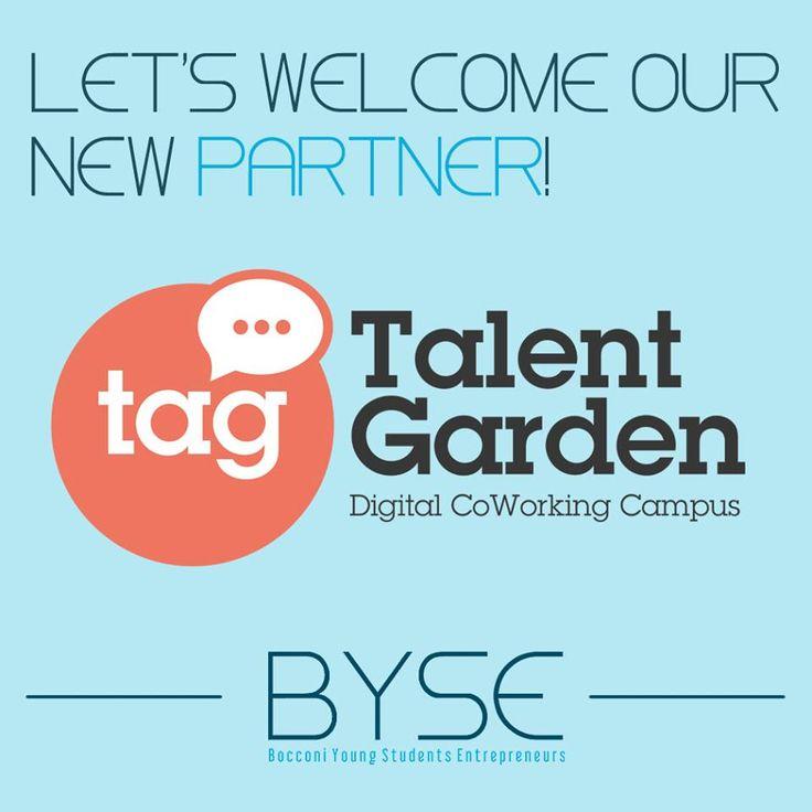 Partnership realizzata da BYSE (Bocconi Young Students Entrepreneurs) con TALENT GARDEN dal 11 aprile 2015