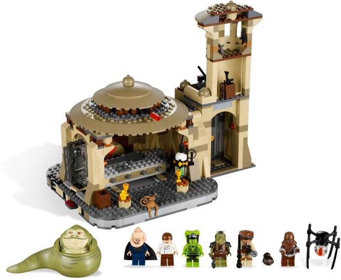 LEGO 9516-1: Jabba's Palace | Brickset: LEGO set guide and database
