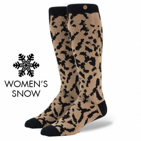 Stance | Chester (Snow) Brown, Black socks | Buy at the Official website Main Website.