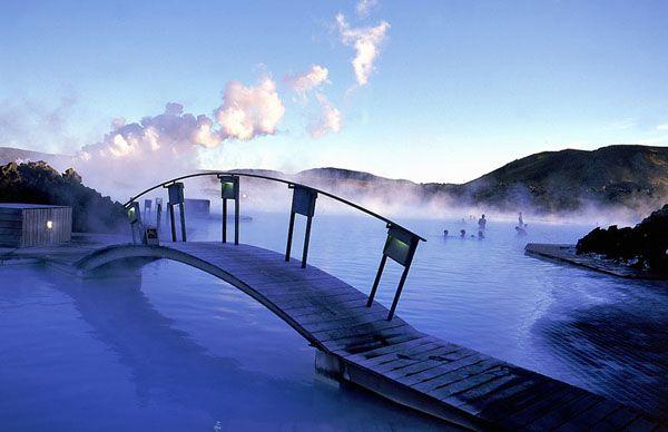 Le féérique Lagon Bleu d'Islande...