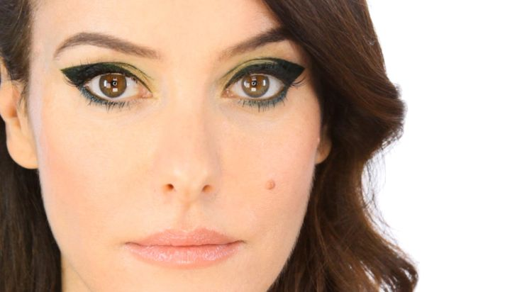 Anything Goes Liquid Eye Liner - Dark Olive Green Makeup Tutorial (+play...