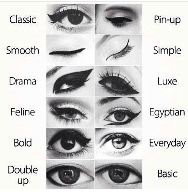 Eye Liner Styles