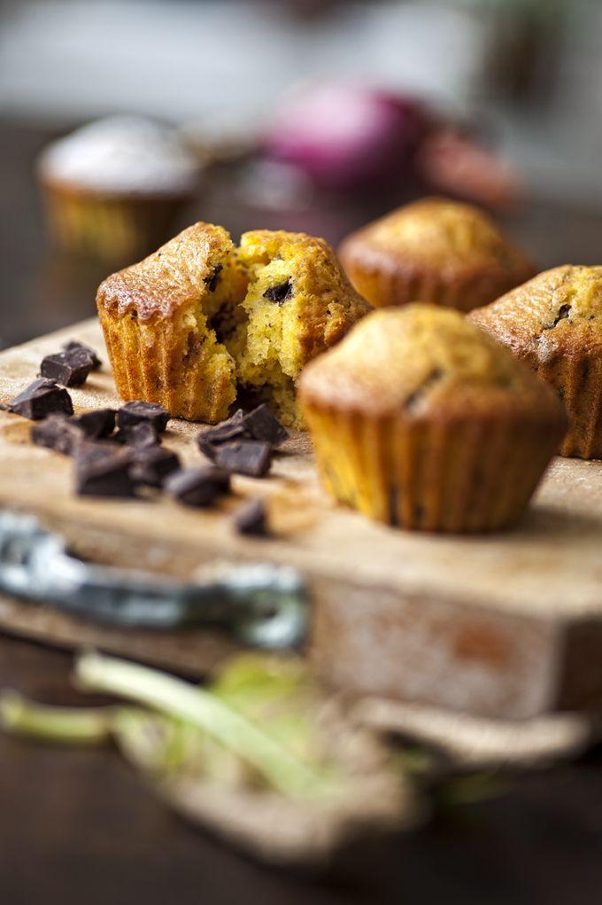 Muffin con pezzi di cioccolato - (C) giulioriotta.com