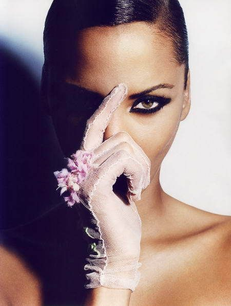 Really. was Noemie lenoir shaved head exactly