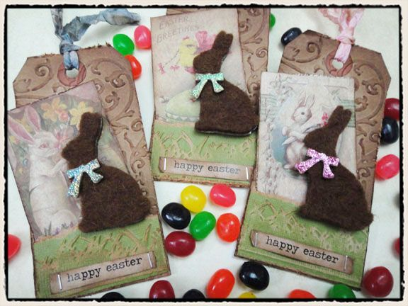 tim holtz easter project