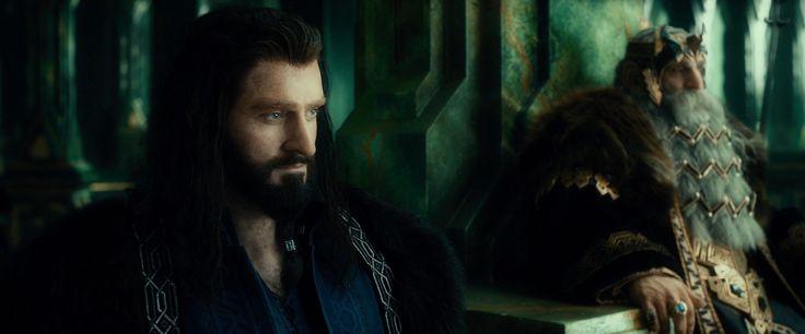 Thorin Scudodiquercia, figlio di Thrain e nipote di Thror, erede di Durin, re Sotto la Montagna