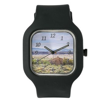 Outback South Australia Clock with Large Numbers W