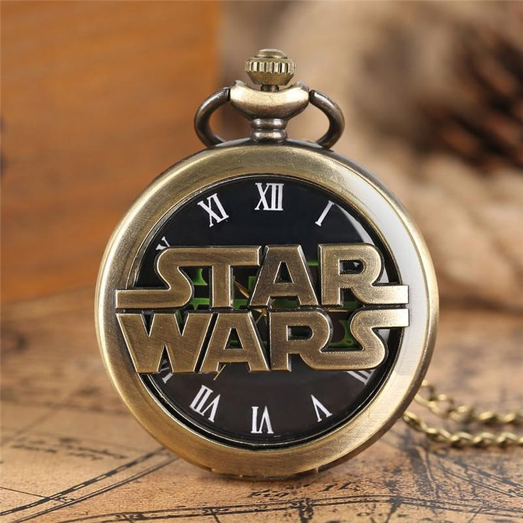 Star Wars Men's Quartz Green Quartz Pocket Watch  #anime #comic #animelover #animeboy #animeart #merchandise #stuff